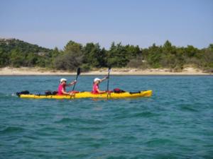 Canoe corsica raid Oxsitis