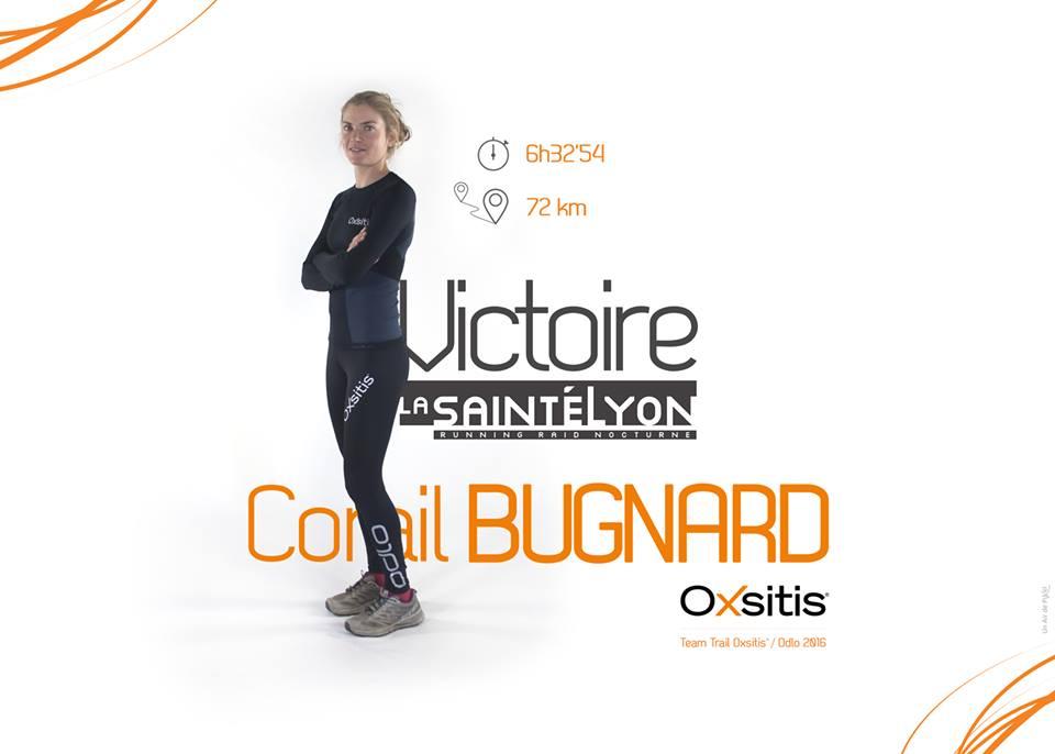 Corail Bugnard gagne la SaintéLyon