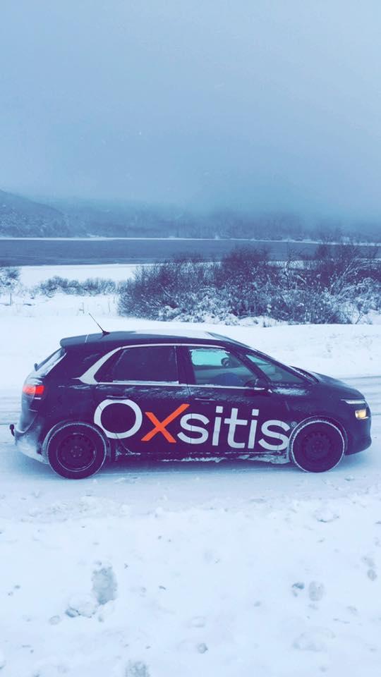 La voiture Oxsitis