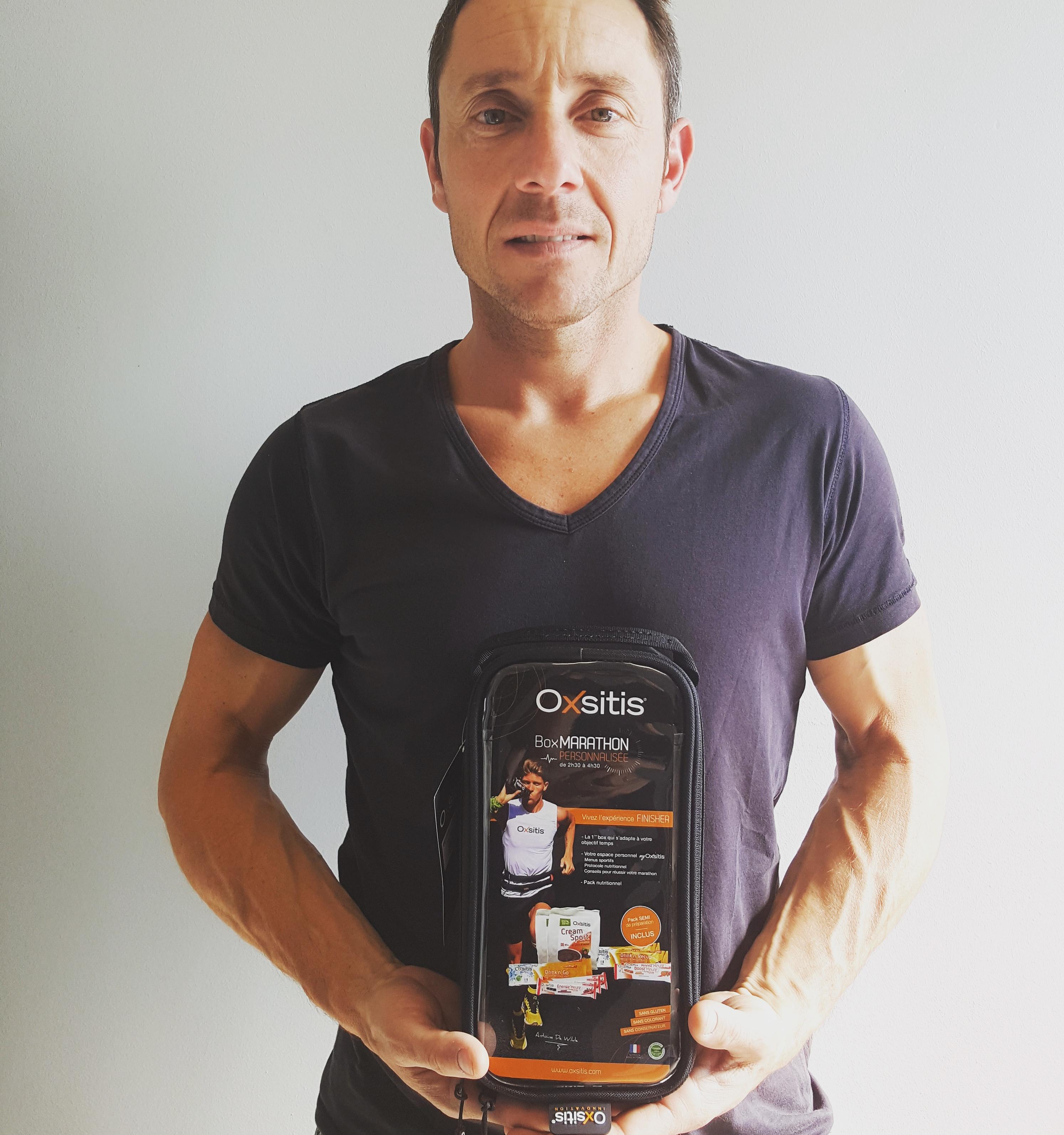 Franck Battaglia et sa Box Marathon