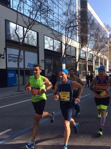 Franck Battaglia sur le marathon de Barcelone