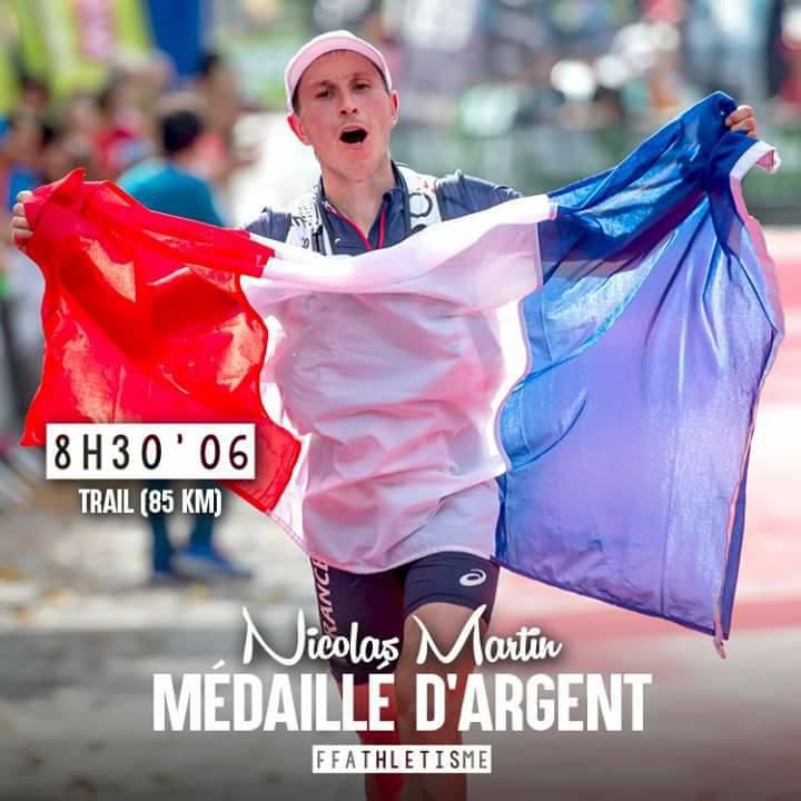 Nicolas Martin trail running