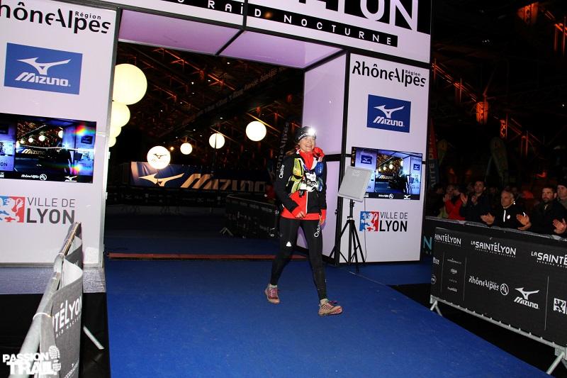 Corai Bugnard en première place sur la Sainté Lyon 2015