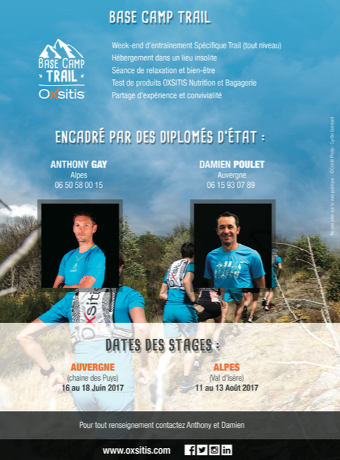 stage trail oxsitis encadré par des experts