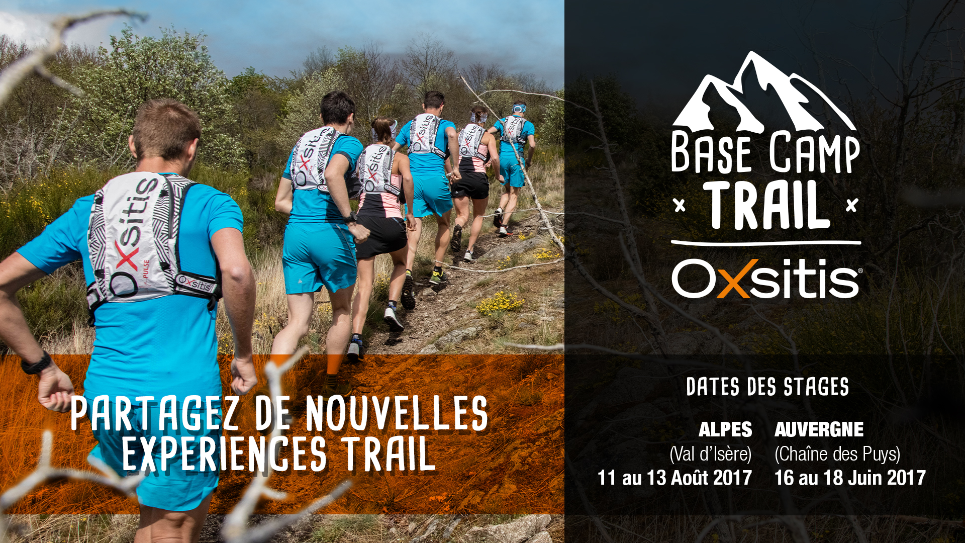 Stage de trail running